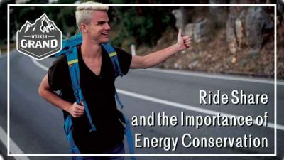 Ride Share and the importance of Energy Conservation