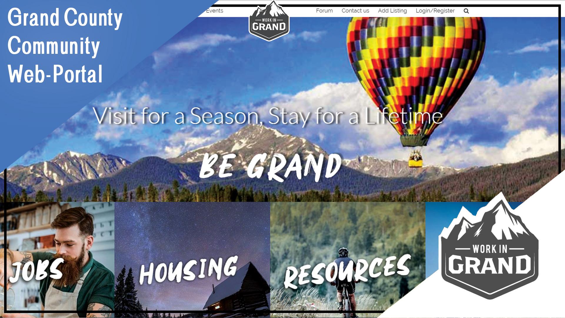 Grand County Community Web-Portal