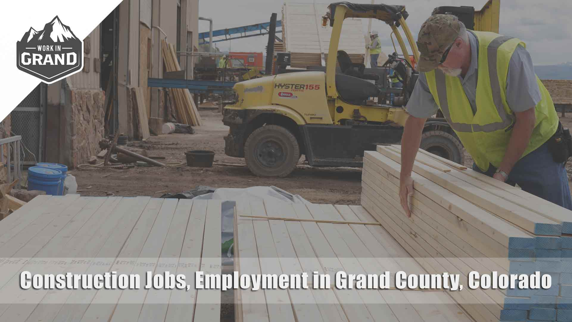 Construction Jobs, Employment in Grand County, Colorado