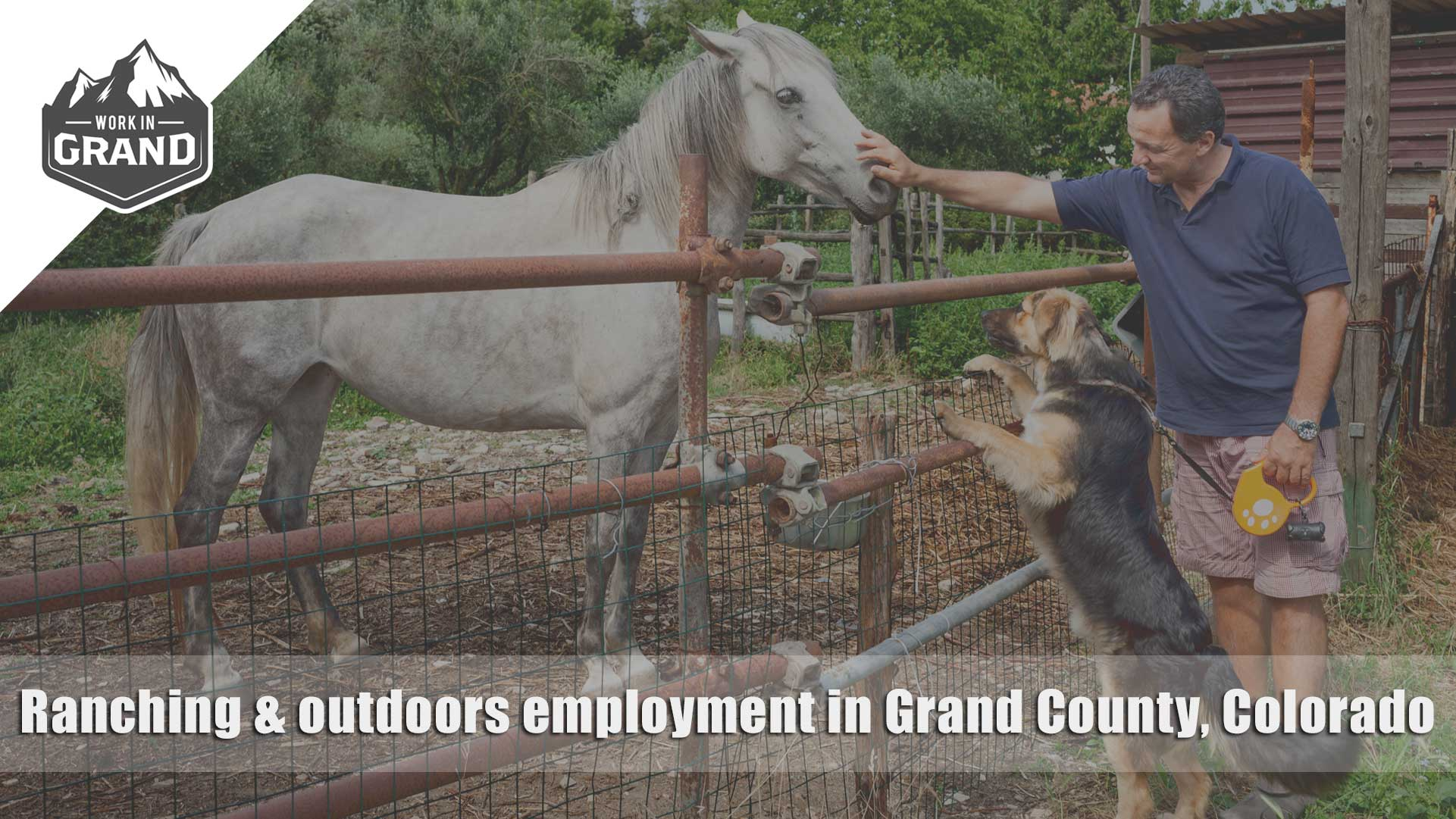 Ranching & outdoors employment in Grand County, Colorado