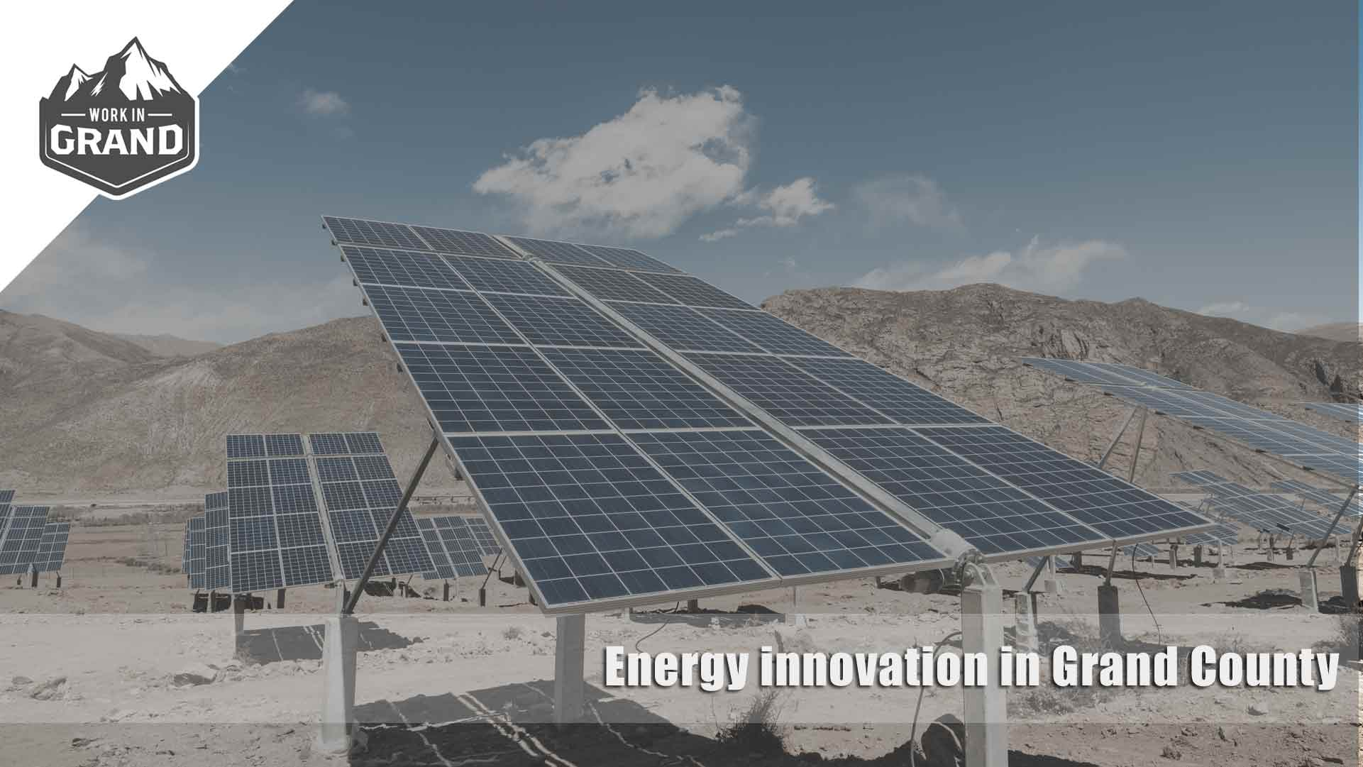Energy innovation in Grand County