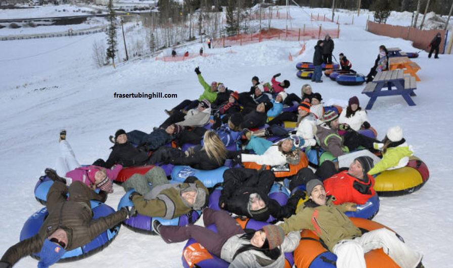 Snow Tubing in Grand County