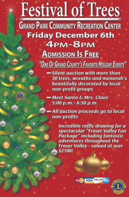 The 2019 Fraser Valley Tree Festival